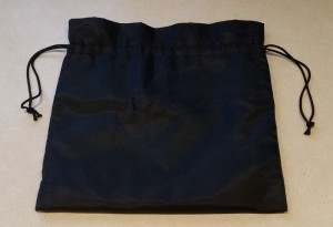 A simple black nylon washbag is the ideal container for your in-flight essentials - Third Millennium Man
